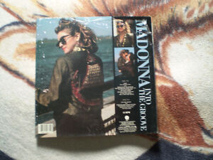 vinyl madonna into the groove/angel 33 tour Lp
