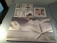 nautical bedroom decor - £45 for the lot. Needs gone ASAP!!