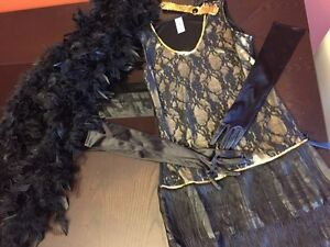 1920 Flapper Dress with all Accessories