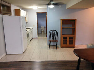 Furnished utilities included 2 bedroom basement apartment