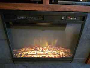 Electric Fireplace Insert Heater AS NEW