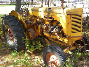 old antique collectible or acreage tractors 4sale CASE, IHC, MM