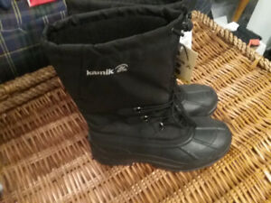 MENS KAMIK WINTER BOOTS NEW WITH TAGS SIZE 12