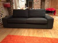 Ikea Kivik 3 seater sofa in anthracite