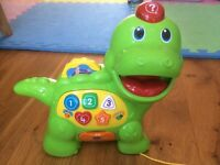 Vtech Feed me Dino toy