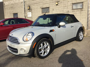 2013 MINI Mini Cooper Convertible Auto Bluetooth bas KM!!!