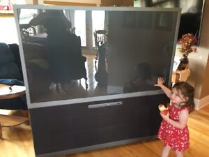 """Free Toshiba 65"""" Rear Projection TV *** SOLD PPU ***"""