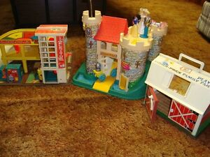 Vintage Fisher Price Toys from the 1970's in Leduc