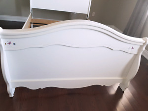 Double girls bed
