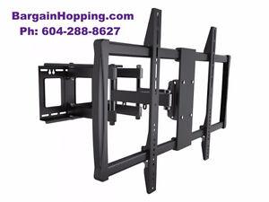 Full Motion Swivel Tilt 60-100 inh TV Wall Mount Bracket