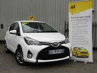 Toyota Yaris 1.3 VVT-I ICON (white) 2015