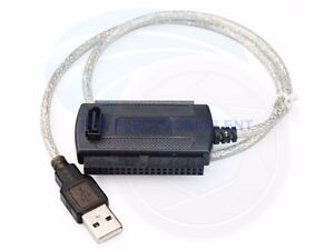 """USB 2.0 to SATA IDE Cable and ATA Converter For 2.5""""/3.5"""" HDD"""