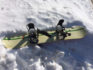 Snowboard - bindings and board