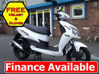 NEW Sym Jet 4 50cc Sports Scooter Automatic Twist and Go *Finance*