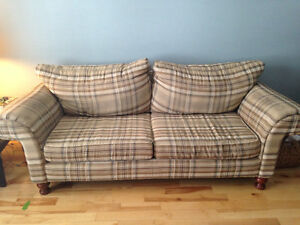 Loved couch and loveseat