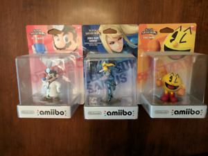 Amiibo in box $15 or trade