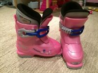 Girls Alpina ski boots US 9 170