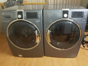 Kenmore Elite Front load washer and dryer set for sale.