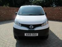 NISSAN NV200 DCI ACENTA SWB 110 BHP BLUETOOTH ELECTRIC PACK
