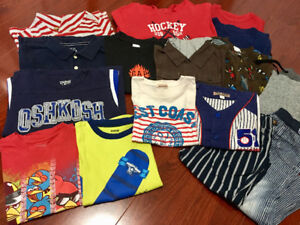 Size 4-5T boy's 17 items set for $12!!
