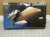 Space Shuttle Challenger 1/144 Scale Revell Space Model Kit