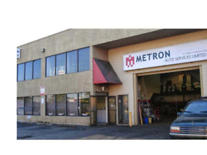 Well-Established Auto Repair Shop for Sale