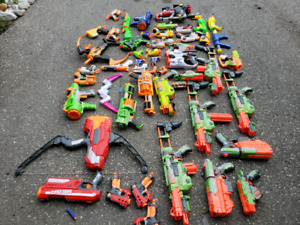 NERF GUNS HUGE COLLECTION