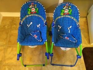 2 fisher price rocker chairs