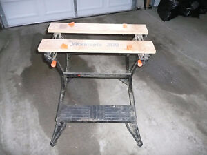 Black and Decker Workmate 300 Heavy Duty fold up portable work