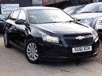 CHEVROLET CRUZE LS 1.6i Hatchback Low Mileage Black Manual, Petrol, 2011 (61)