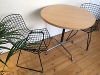 Mid Century Charles Eames Herman Miller Table for Vitra