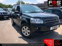 2011 Land Rover Freelander 2 2.2Td4 150 Bhp 4x4 GS 5 Door In Black