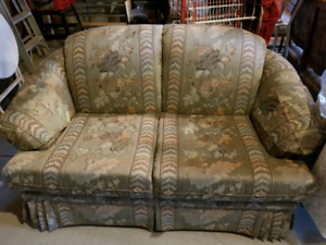 Love Seat & Queen Anne Chair $39.99 for both