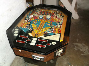 Star Trip Cocktale sit down pinball machine * RARE