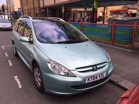 Peugeot 307 SW 1.6 16v SE 5dr (7 SEATER) automatic with full mot ***1195***