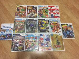 Nintedno Wii Games CHRISTMAS