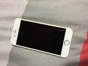 Iphone 6 - 64gb - rogers- perfect condition - white & gold