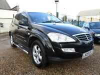Ssangyong Kyron 2.0 S (black) 2009
