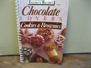 FAVORITE RECIPES    CHOCOLATE  LOVERS