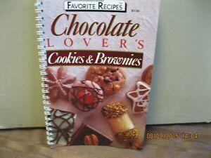 FAVORITE RECIPES    CHOCOLATE  LOVERS Oakville / Halton Region Toronto (GTA) image 1