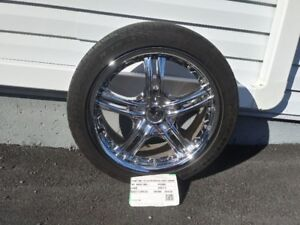 "18"" Chrome Rims and Tires"
