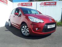 2010 60 CITROEN C3 1.4i VTR+ 5 DOOR.FULL SH.2 KEYS,FINANCE AVAILABLE,GREAT MPG .