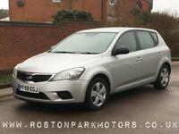 2010 KIA CEED 1.4 1 5dr Feb 2019 MOT clean car