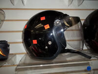 MTV MOTORCYCLE BOWL STYLE HELMET, WITH CLIP ON VISOR, ONLY 49.99