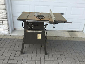 Corroyeur\Jointer & Banc de Scie\Table Saw