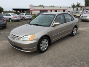 2002 Honda Civic 4 door AUTOMATIC!!! IMMACULATE!!!