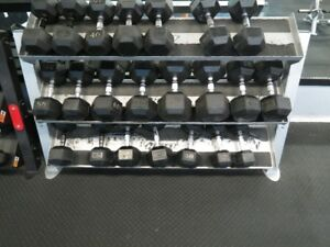 Exercise equipment- Dumbbell rack