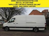 2016 16 MERCEDES-BENZ SPRINTER 2.1 313CDI LWB HIGH ROOF NEW SHAPE. 1 OWNER. EURO
