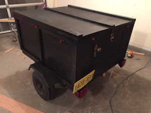 "Covered utility trailer 40""X48"""