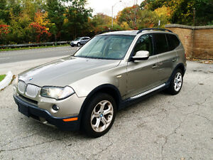 2010 BMW X3 xDrive30i AWD |PANORAMIC SUNROOF | LEATHER | LOADED